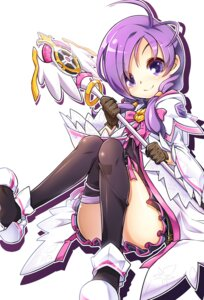 Rating: Safe Score: 52 Tags: aisha_(elsword) elsword pantsu poseich thighhighs User: fairyren