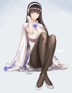 Rating: Safe Score: 11 Tags: cleavage girls_frontline monaim pantyhose qbz-95 signed User: mash