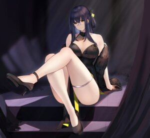 Rating: Safe Score: 12 Tags: dress heels tagme User: BattlequeenYume
