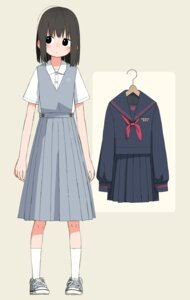 Rating: Safe Score: 8 Tags: character_design kumanoi_(nichols) seifuku User: Radioactive