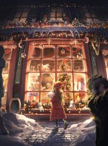Rating: Safe Score: 30 Tags: christmas landscape nogi_momoko User: Dreista