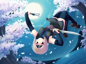 Rating: Safe Score: 14 Tags: maxwindy ninja thighhighs wallpaper User: yayanipon