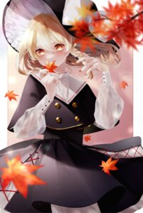 Rating: Safe Score: 13 Tags: kirisame_marisa skirt_lift touhou witch yukia_(yukia_777) User: BattlequeenYume