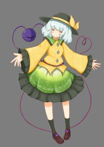 Rating: Safe Score: 7 Tags: komeiji_koishi shiro_tsugumi touhou transparent_png User: charunetra