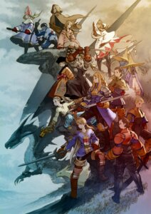 Rating: Safe Score: 15 Tags: agrias_oaks black_mage chocobo delita_heiral final_fantasy final_fantasy_tactics monster ramza_beoulve sword white_mage yoshida_akihiko User: Radioactive