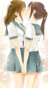 Rating: Questionable Score: 54 Tags: amanattou genderswap koizumi_itsuki kyon kyonko seifuku suzumiya_haruhi_no_yuuutsu yuri User: Radioactive