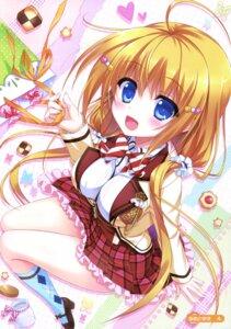 Rating: Safe Score: 69 Tags: ame_to_yuki hanasaki_work_spring kotobuki_hikari saga_planets seifuku User: Twinsenzw