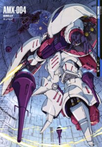 Rating: Safe Score: 13 Tags: gundam matsui_akira mecha qubeley zeta_gundam User: Radioactive