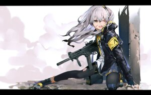 Rating: Safe Score: 36 Tags: blood girls_frontline gun pantyhose tagme torn_clothes ump45_(girls_frontline) User: BattlequeenYume