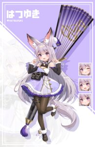 Rating: Questionable Score: 22 Tags: animal_ears expression garter pantyhose pn_(wnsl216) skirt_lift tail User: Dreista