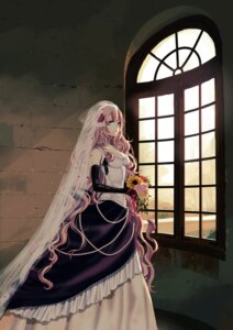 Rating: Safe Score: 75 Tags: cleavage dress megurine_luka vient vocaloid wedding_dress User: charunetra