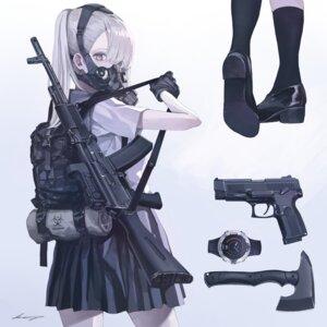 Rating: Safe Score: 20 Tags: gun koh_(minagi_kou) seifuku tagme weapon User: BattlequeenYume