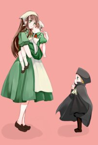 Rating: Safe Score: 6 Tags: hetalia_axis_powers holy_roman_empire hungary kurabayashi_matoni north_italy User: charunetra