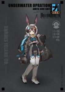 Rating: Questionable Score: 3 Tags: amiya_(arknights) animal_ears arknights bodysuit bunny_ears lanyaojun User: Dreista