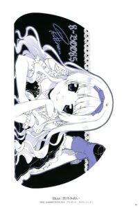 Rating: Safe Score: 16 Tags: autographed heels kuroi_mimei monochrome seifuku User: Twinsenzw