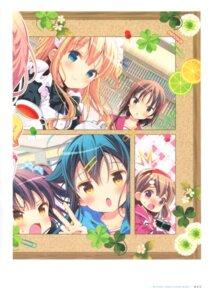 Rating: Safe Score: 20 Tags: hinako_note maid mitsuki_(mangaka) seifuku User: fireattack