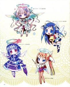 Rating: Safe Score: 36 Tags: amimi animal_ears chibi lolita_fashion wings User: petopeto