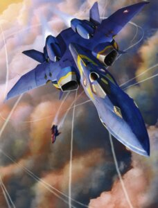 Rating: Safe Score: 7 Tags: macross macross_plus mecha tenjin_hidetaka User: oldwrench