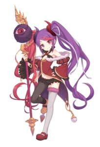 Rating: Safe Score: 9 Tags: heterochromia horns tagme thighhighs weapon User: edh111