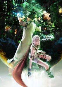 Rating: Safe Score: 22 Tags: cg final_fantasy final_fantasy_xiii lightning snow_villiers square_enix User: Prishe