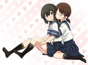 Rating: Safe Score: 28 Tags: abe_kanari isonami_(kancolle) kantai_collection seifuku shirayuki_(kancolle) yuri User: Radioactive