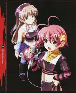 Rating: Safe Score: 10 Tags: kashiwara_sarina katakura_shinji kira_kira shiino_kirari User: Moonworks