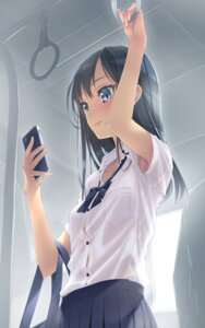 Rating: Safe Score: 146 Tags: bra murakami_suigun see_through seifuku User: Radioactive