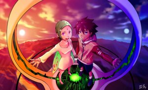 Rating: Safe Score: 25 Tags: eureka eureka_seven g_scream renton_thurston wings User: charunetra