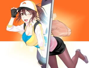 Rating: Questionable Score: 39 Tags: cleavage heels oretoreon pantyhose pokemon pokemon_go pokemon_trainer User: mash