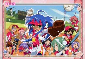 Rating: Safe Score: 6 Tags: baseball hiiragi_kagami hiiragi_tsukasa iwasaki_minami izumi_konata izumi_soujirou kobayakawa_yutaka kusakabe_misao lucky_star patricia_martin shiraishi_minoru takara_miyuki tamura_hiyori User: Onpu