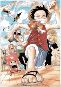Rating: Safe Score: 7 Tags: monkey_d_luffy nami nico_robin oda_eiichirou one_piece roronoa_zoro sanji tony_tony_chopper usopp User: Vampire1805