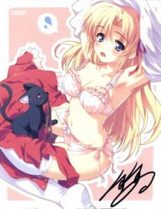 Rating: Safe Score: 46 Tags: bra garter_belt kusukusu marie_rudel neko palette pantsu sakura_strasse stockings thighhighs undressing User: admin2