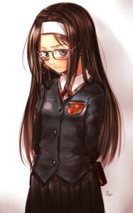 Rating: Safe Score: 17 Tags: kotoba_noriaki megane seifuku User: KazukiNanako