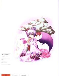 Rating: Safe Score: 8 Tags: ginichi kimono remilia_scarlet touhou wings User: Radioactive