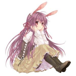 Rating: Safe Score: 68 Tags: animal_ears bunny_ears pantyhose reisen_udongein_inaba sakura_neko touhou User: Riven