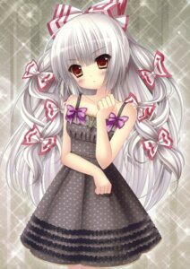 Rating: Safe Score: 65 Tags: dress fujiwara_no_mokou kino kinokonomi kokoa_(artist) touhou User: fireattack