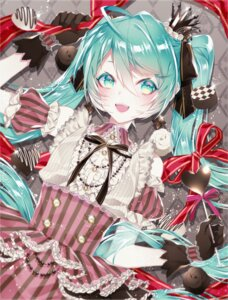Rating: Safe Score: 20 Tags: 1055 dress hatsune_miku valentine vocaloid User: charunetra