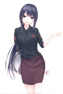 Rating: Safe Score: 98 Tags: coffee-kizoku shiramine_rika thighhighs waitress User: Radioactive