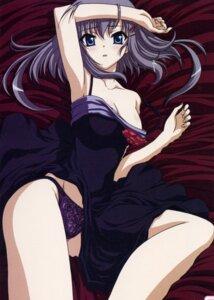 Rating: Safe Score: 71 Tags: akane_iro_ni_somaru_saka cleavage dress katagiri_yuuhi lingerie pantsu screening skirt_lift User: Radioactive