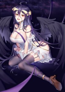 Rating: Questionable Score: 37 Tags: albedo_(overlord) boku_koyuki_mx cleavage heels horns overlord stockings thighhighs wings User: Dreista