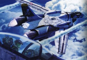 Rating: Safe Score: 12 Tags: binding_discoloration macross mecha tenjin_hidetaka User: oldwrench
