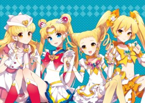 Rating: Safe Score: 43 Tags: crossover heartcatch_pretty_cure! kasugano_urara moriya_ririka myoudouin_itsuki nardack nurse_angel_ririka_sos pretty_cure sailor_moon thighhighs tsukino_usagi yes!_precure_5 User: Manabi