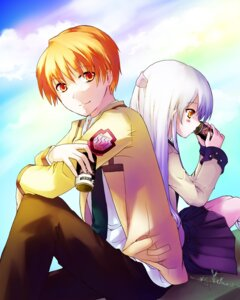 Rating: Safe Score: 6 Tags: angel_beats! myaaco otonashi seifuku tenshi User: Radioactive