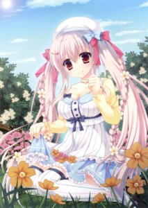 Rating: Safe Score: 57 Tags: cleavage dress furukawa_lemon skirt_lift thighhighs User: Twinsenzw