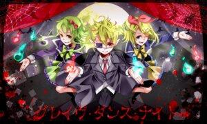 Rating: Safe Score: 5 Tags: eyepatch gumi kagamine_len kagamine_rin nou vocaloid User: shizukane