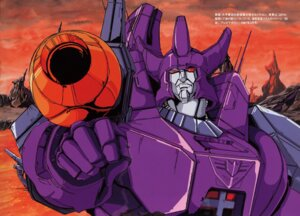 Rating: Safe Score: 7 Tags: galvatron mecha oohira_shinya transformers User: Radioactive