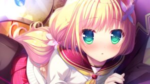 "Rating: Safe Score: 58 Tags: chuablesoft game_cg komachi_mahiru mango_purin pantyhose seifuku sweater watashi_ga_suki_nara_""suki""_tte_itte! User: donicila"