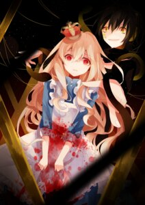Rating: Safe Score: 38 Tags: blood kagerou_project konoha_(kagerou_project) kozakura_mary maid natsuhime User: tbchyu001