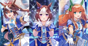Rating: Safe Score: 11 Tags: akitsuki_(oenothera) animal_ears silence_suzuka_(umamusume) special_week_(umamusume) tail tokai_teio_(umamusume) uma_musume_pretty_derby uniform User: Dreista
