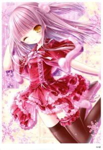 Rating: Safe Score: 52 Tags: dress garter gothic_lolita lolita_fashion thighhighs tinkle User: RICO740